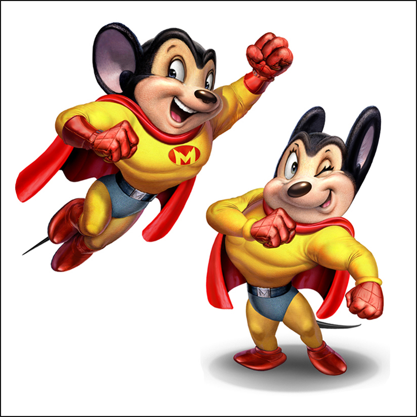 Chris Consani Mighty Mouse